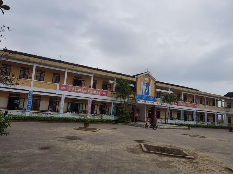 trường học xuống cấp,trường chuẩn,Hà Tĩnh