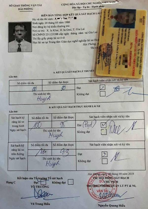 Vì sao người mù chữ ở Gia Lai thi bằng lái 'bao đậu' ở Hải Phòng?