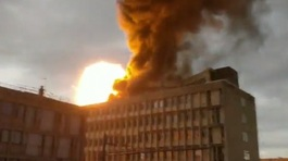 Nổ khí gas rung chuyển trường đại học tại Pháp