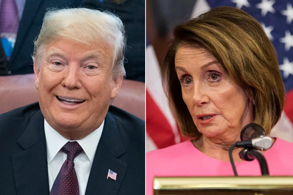 Mỹ,Donald Trump,Chủ tịch Hạ viện Mỹ,Nancy Pelosi,trả đũa,ăn miếng trả miếng