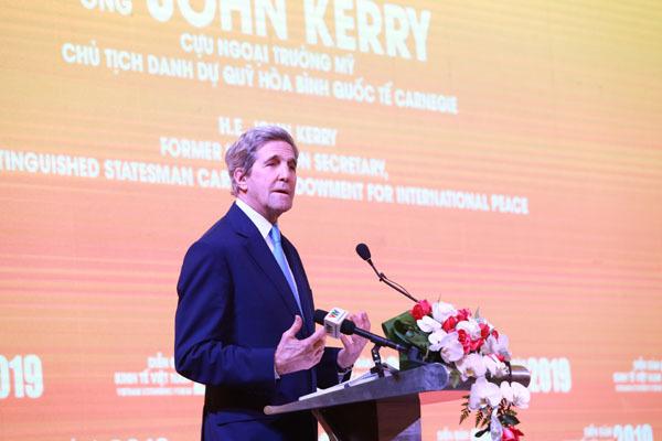 John Kerry,Hoa Kì,năng lượng sạch,biến đổi khí hậu