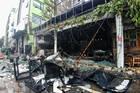 Hà Nội: Lửa thiêu rụi quán ăn, 1 người bị thương