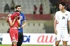 Cầu thủ Lebanon khóc nức nở vì mất vé vào tay Việt Nam