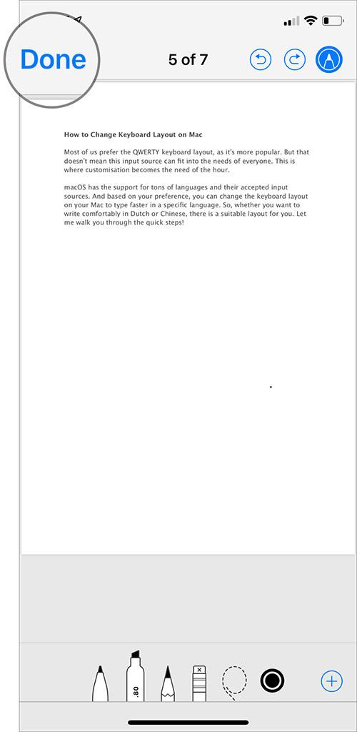 Cách xóa mật khẩu file PDF trên iPhone và iPad