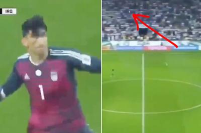 Thủ môn Iran gây sốt với cú ném bóng xa 70m ở Asian Cup