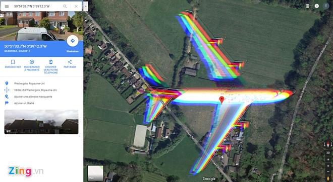 Thực hư hình ảnh máy bay MH370 xuất hiện ở đỉnh Bạch Mã trên Google Maps