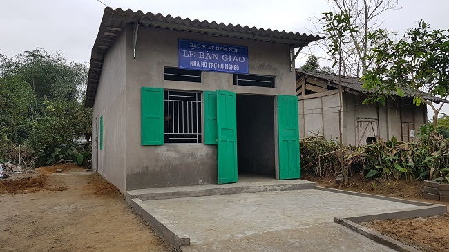 'Ngôi nhà mơ ước' đầu tiên được trao tặng tại Yên Bái