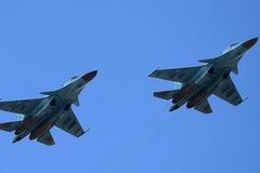 Hai máy bay ném bom Nga đâm nhau trên trời