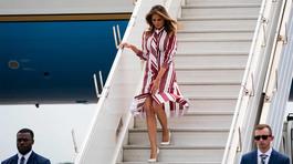 Bà Trump bị tố dùng máy bay công đi nghỉ mát