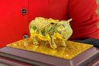Tết Kỷ Hợi, mừng tuổi sếp con heo vàng nguyên khối trăm triệu