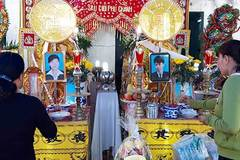 Vợ chồng tử nạn dưới gầm xe container: Xót cảnh nghèo, 3 con thơ bơ vơ
