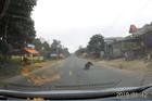 Nếu lơ đãng 1 giây, tài xế này đã cán qua bà cụ