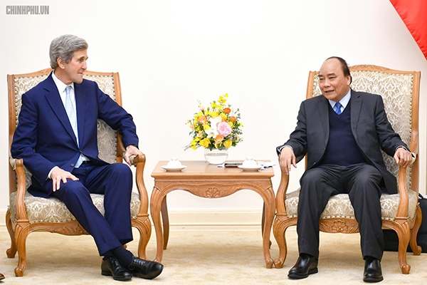 Thủ tướng,Nguyễn Xuân Phúc,John Kerry