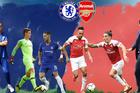 Trực tiếp Arsenal và Chelsea: Bắt vía chủ nhà