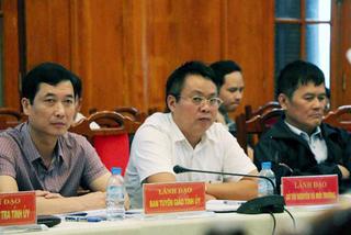 Ông Phạm Sỹ Quý chuyển công tác từ Yên Bái về Hà Nội
