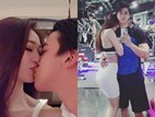 Người đẹp từng từ chối Trường Giang biến phòng gym thành 'thiên đường tình yêu' với bạn trai