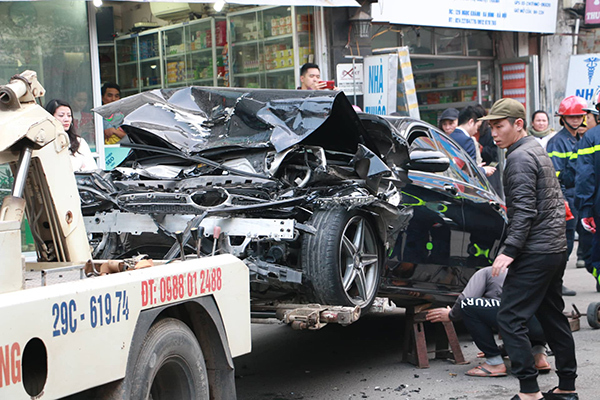 tai nạn,tai nạn giao thông,Hà Nội
