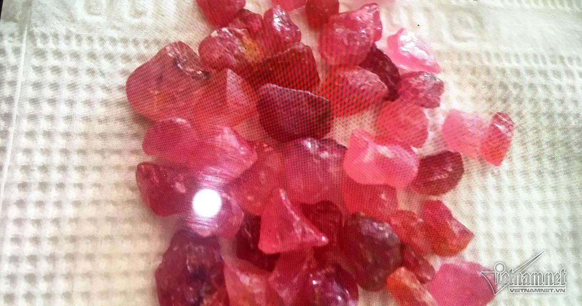 đá đỏ,đá quý,Nghệ An
