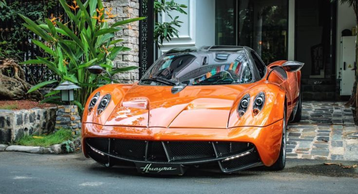 Minh Nhựa,siêu xe,Pagani Huayra