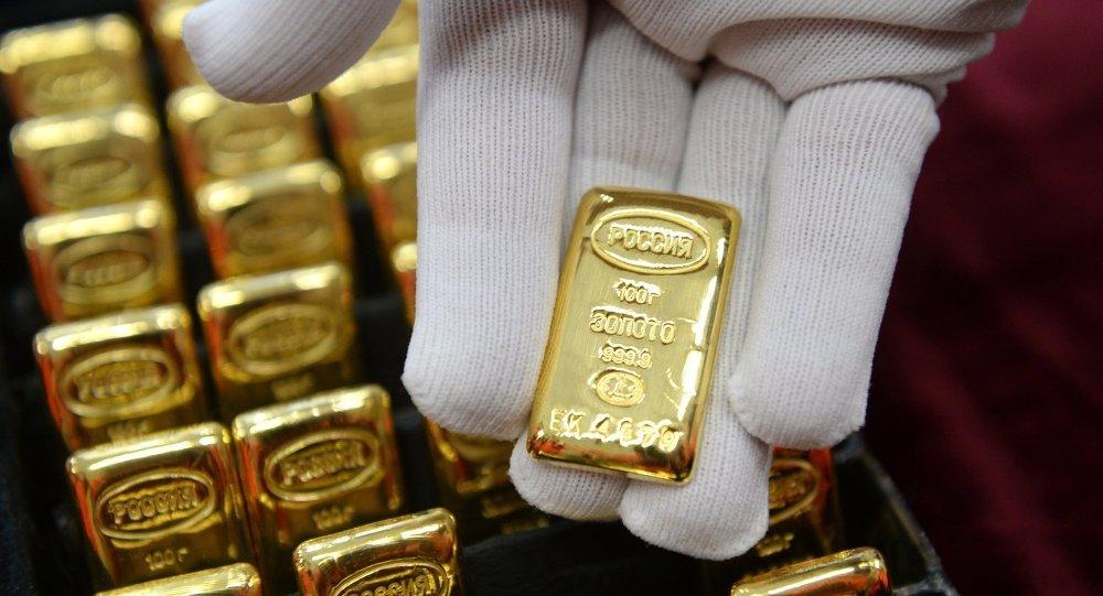 Dự trữ vàng của Nga đạt kỷ lục