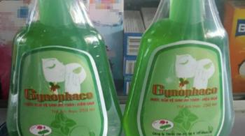 Thu hồi dung dịch vệ sinh Gynophaco do không đạt chất lượng