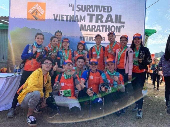Mê đắm đường chạy tuyệt đẹp của giải Vietnam Trail Marathon 2019