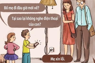 """Những mẩu hội thoại """"nếu con cái nói câu của cha mẹ"""" đáng suy ngẫm"""