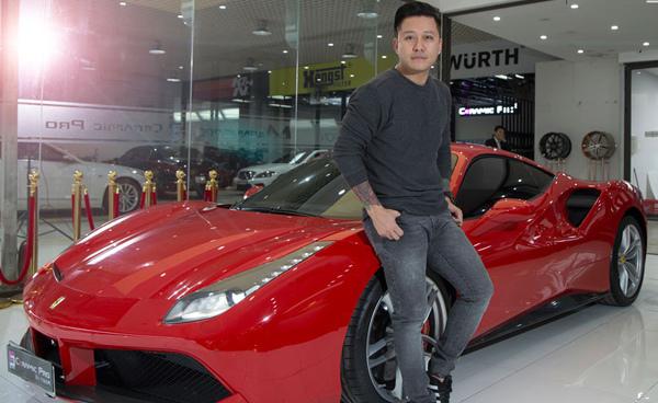 Tuấn Hưng,siêu xe,Ferrari,Mercedes-Benz