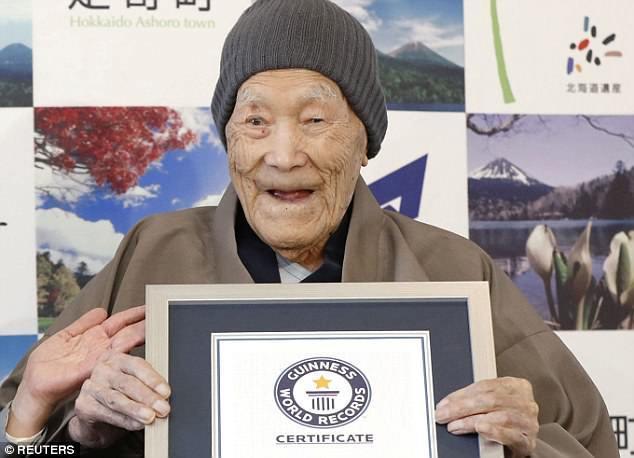 cao tuổi,Guinness,kỷ lục thế giới