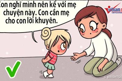 Những điều cha mẹ cần dạy con ngay từ khi còn nhỏ