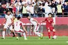 Việt Nam 0-1 Jordan: Hùng Dũng, Trọng Hoàng suýt gỡ hòa (hết H1)
