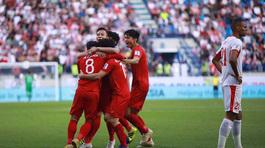 Cận cảnh trận thắng nghẹt thở của tuyển Việt Nam trước Jordan