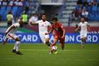 Việt Nam 1-1 Jordan: Minh Vương thay Trọng Hoàng (hiệp phụ)