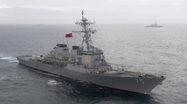 Thế giới 24h: Tàu Nga bám chiến hạm Mỹ ở Biển Đen