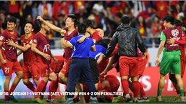 Đội tuyển Việt Nam vào tứ kết Asian Cup 2019