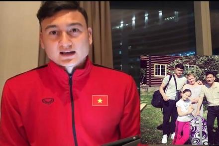Thủ môn Lâm 'tây' nhớ mẹ và nước Nga da diết khi Tết về