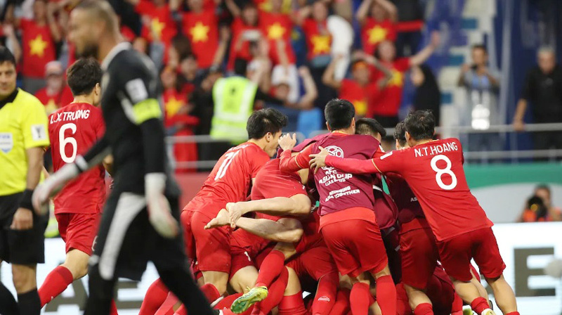 Tuyển Việt Nam,Tuyển Jordan,Asian Cup 2019