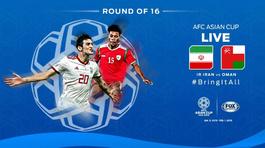 Iran 0-0 Oman: Thủ môn Iran xuất sắc đẩy quả 11m (H1)