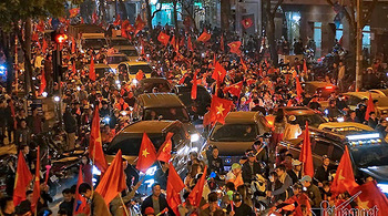Việt Nam vào tứ kết Asian Cup: Vỡ òa chiến thắng, sung sướng vô cùng