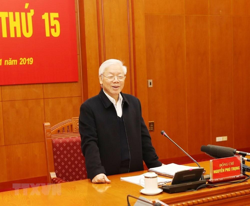 Phiên họp thứ 15 của Ban Chỉ đạo TƯ về phòng, chống tham nhũng