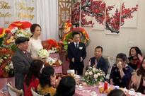 Cận cảnh hình ảnh 'người đàn bà thép' Như Loan - mẹ ruột Cường Đô La khóc trong lễ hỏi cưới Đàm Thu Trang