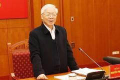 Kỷ luật 38 cán bộ, đảng viên diện TƯ quản lý trong năm 2018