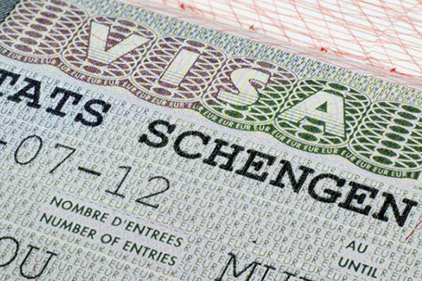 cấp thị thực,Đức