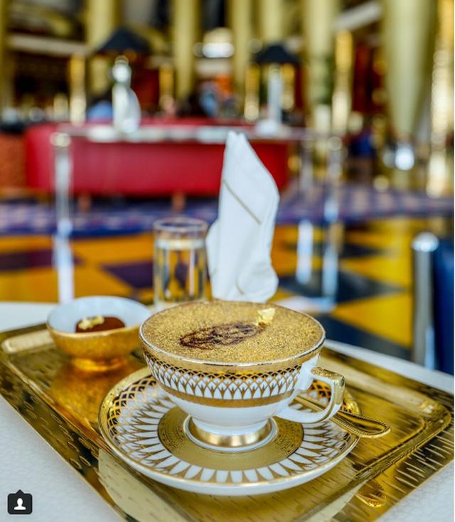 dát vàng,Dubai,món ăn dát vàng