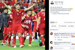"""Tuyển thủ Việt Nam gây bão mạng: """"Anh sẽ về, nhưng không phải hôm nay"""""""