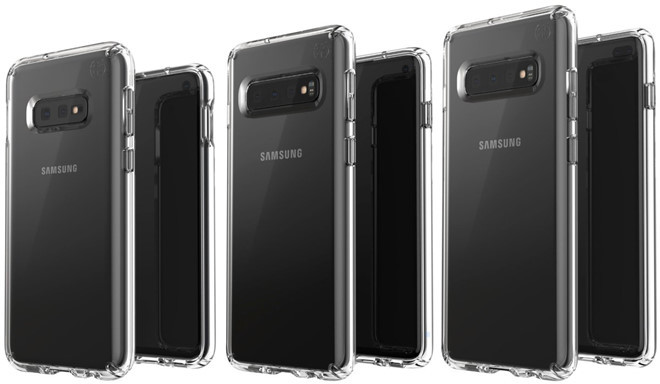 Galaxy S10 lộ diện 3 phiên bản