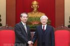 Tổng bí thư, Chủ tịch nước tiếp Đại sứ Trung Quốc