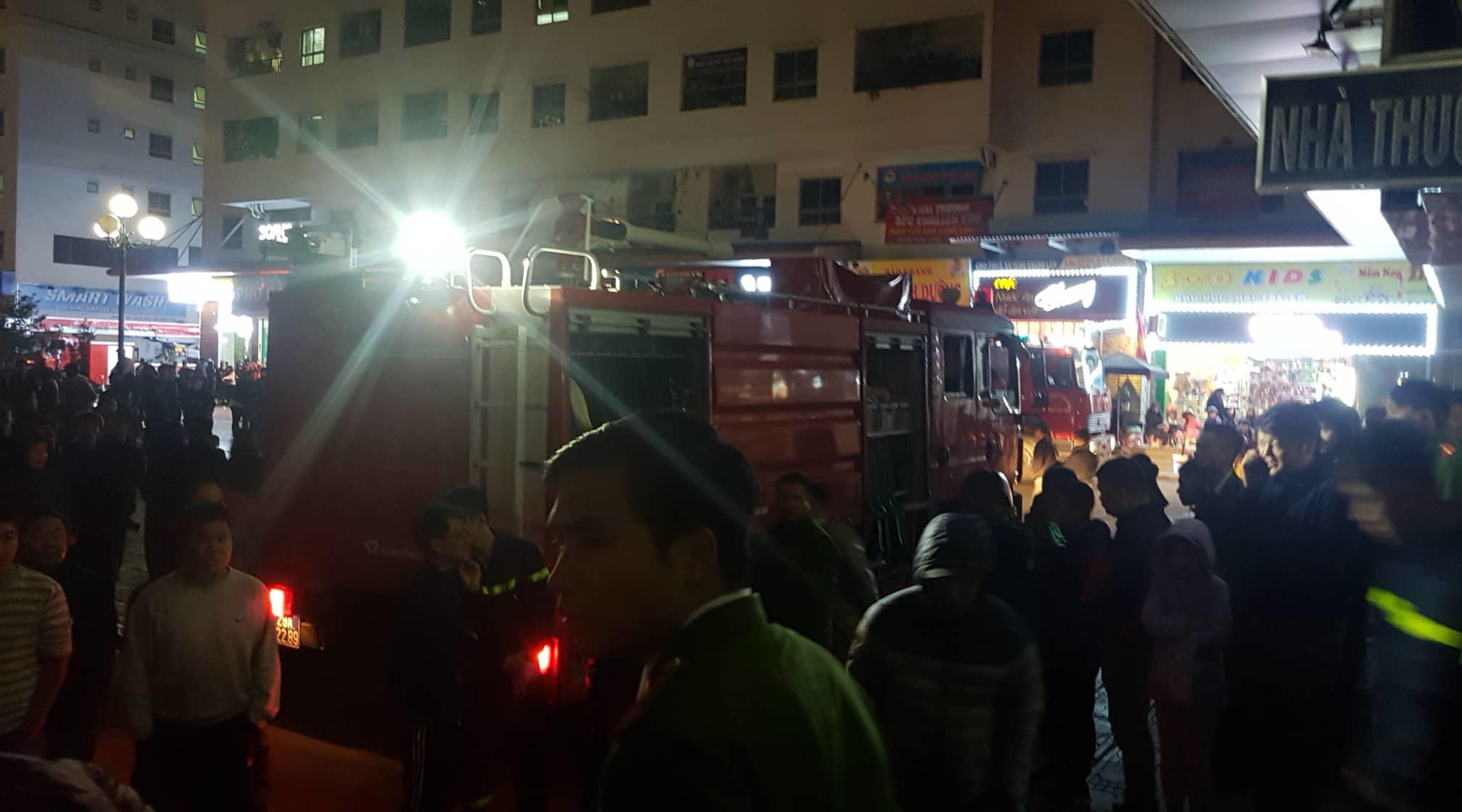 cháy nhà,cháy chung cư,chung cư,HH Linh Đàm