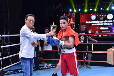 WBA Asia Boxing Title Match: Võ sỹ Việt gây ấn tượng mạnh