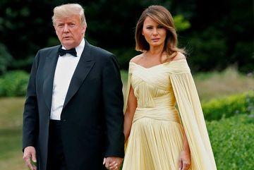Vợ chồng Tổng thống Trump bị đề cử diễn viên tệ nhất
